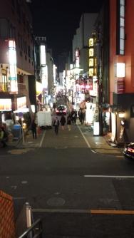 Nighttime in Akasaka